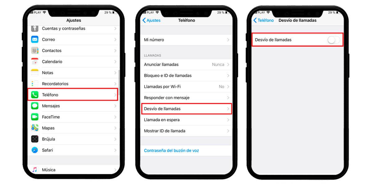 cómo desactivar el desvío de llamadas en tu móvil iphone ios