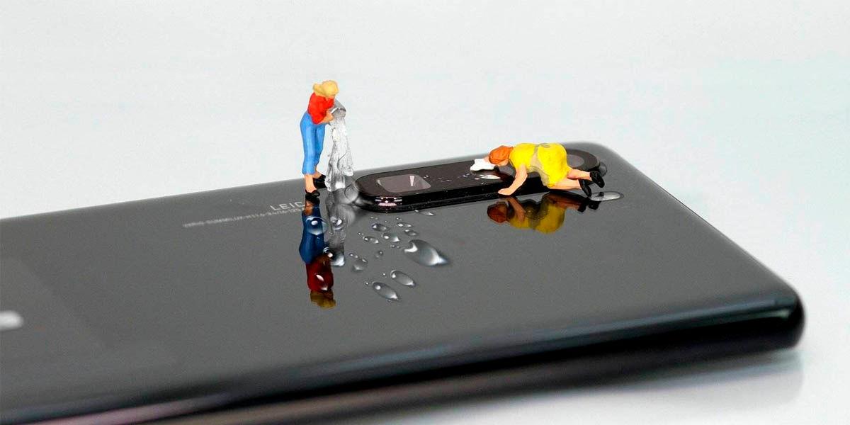 cómo desinfectar el móvil evitar contagios