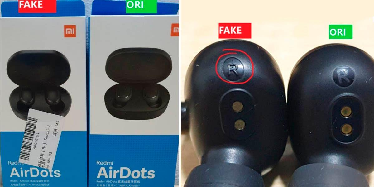 cómo detectar redmi airdots de imitación