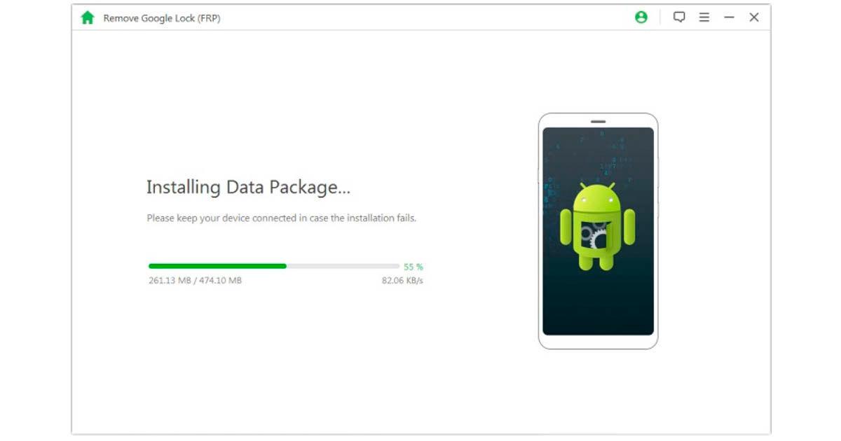 cómo eliminar la contraseña de Google con iMyFone LockWiper para Android