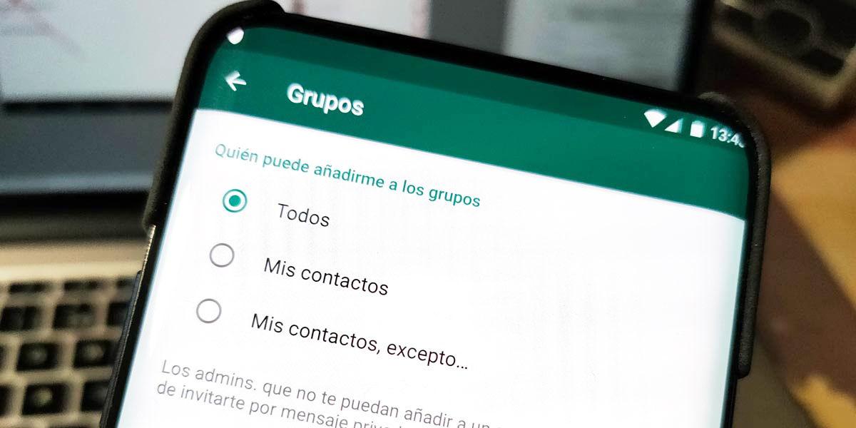 como evitar grupos whatsapp