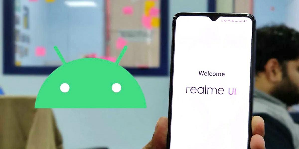 como forzar la actualización de android en moviles realme