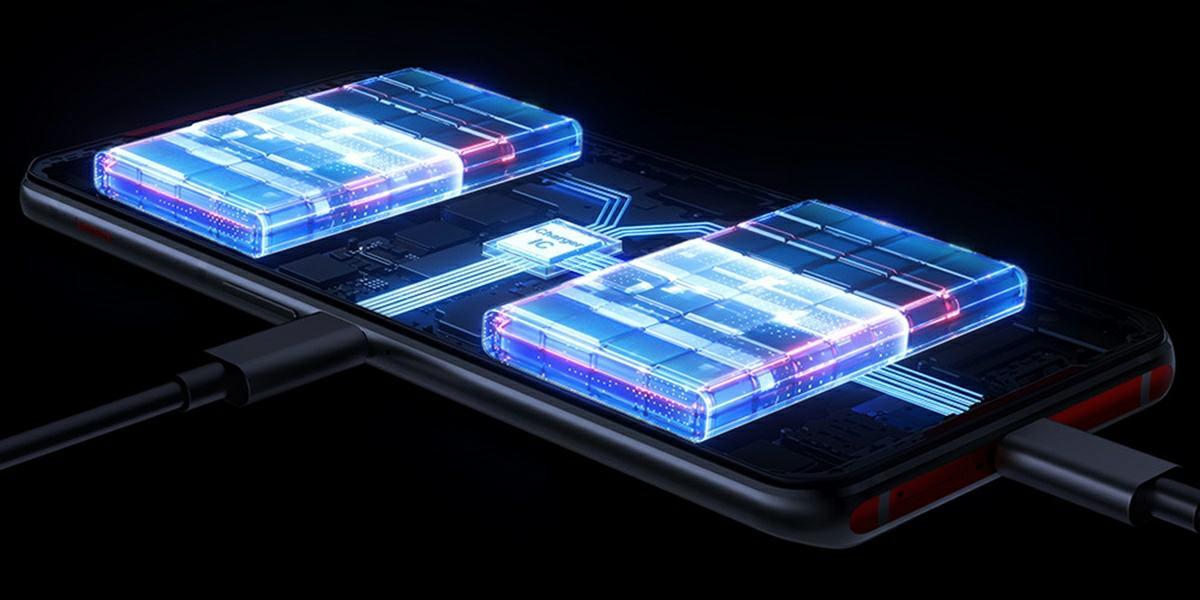 como funciona la bateria dual del lenovo legion phone duel