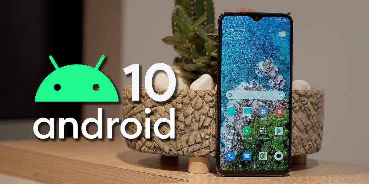 cómo instalar android 10 en el redmi note 8