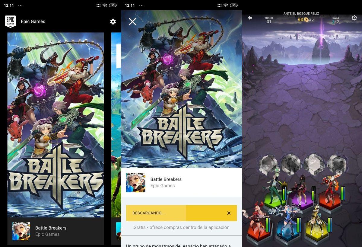 como instalar battle breakers desde epic games
