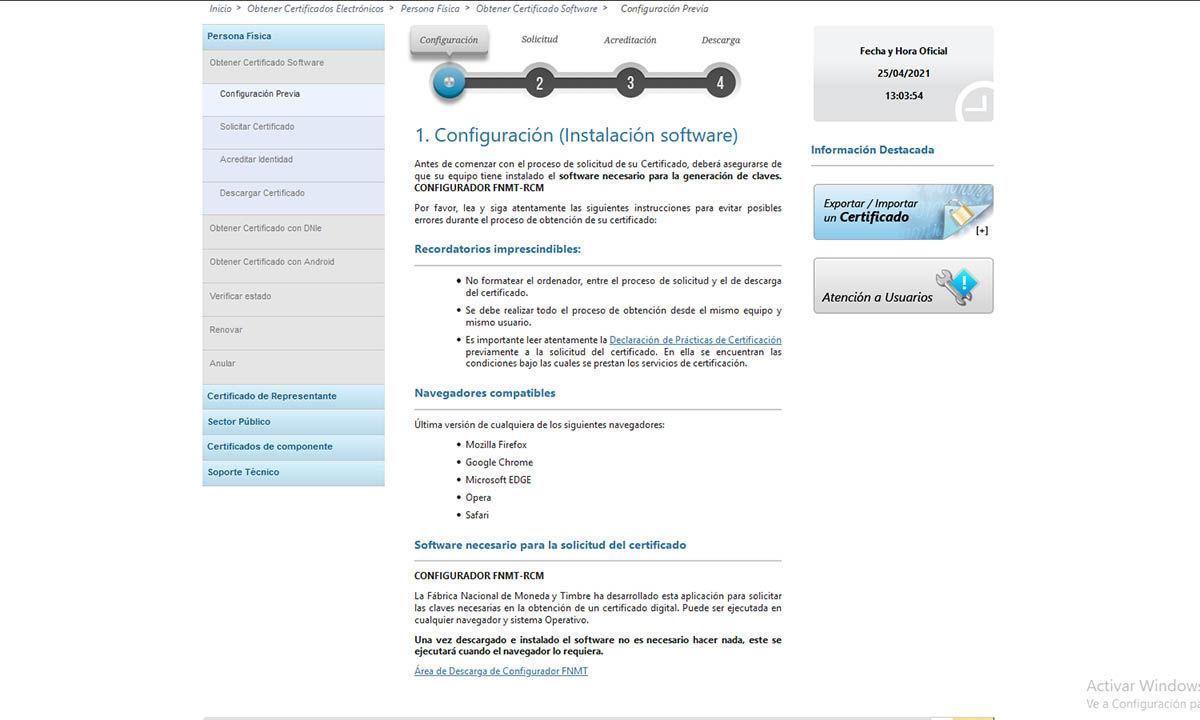 cómo instalar certificado raíz fnmt en el ordenador