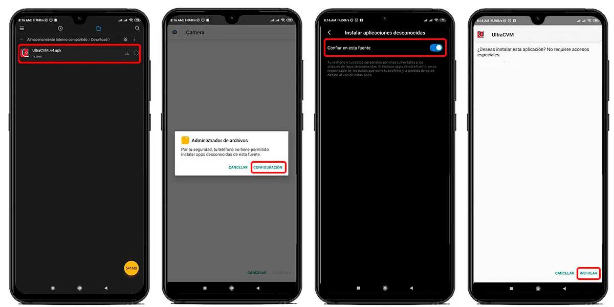 como instalar gcam ultra cvm mod en cualquier android