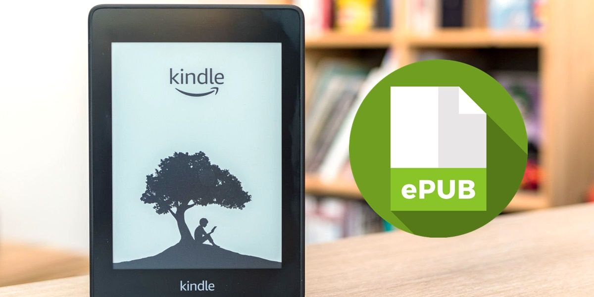 como leer libros epub en amazon kindle