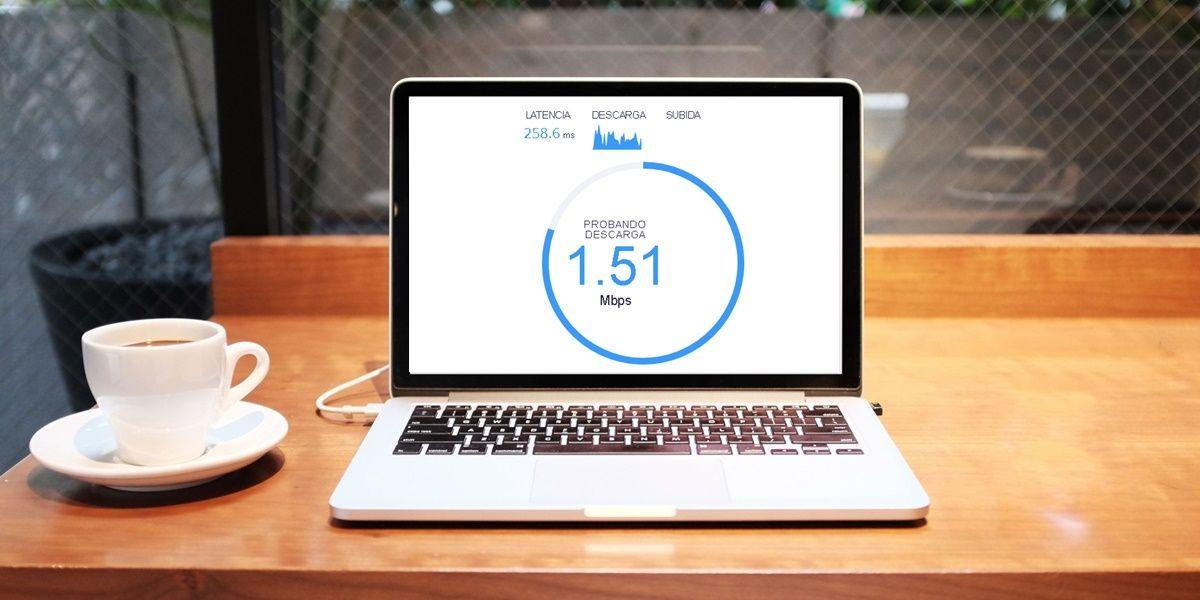 como medir la velocidad del internet