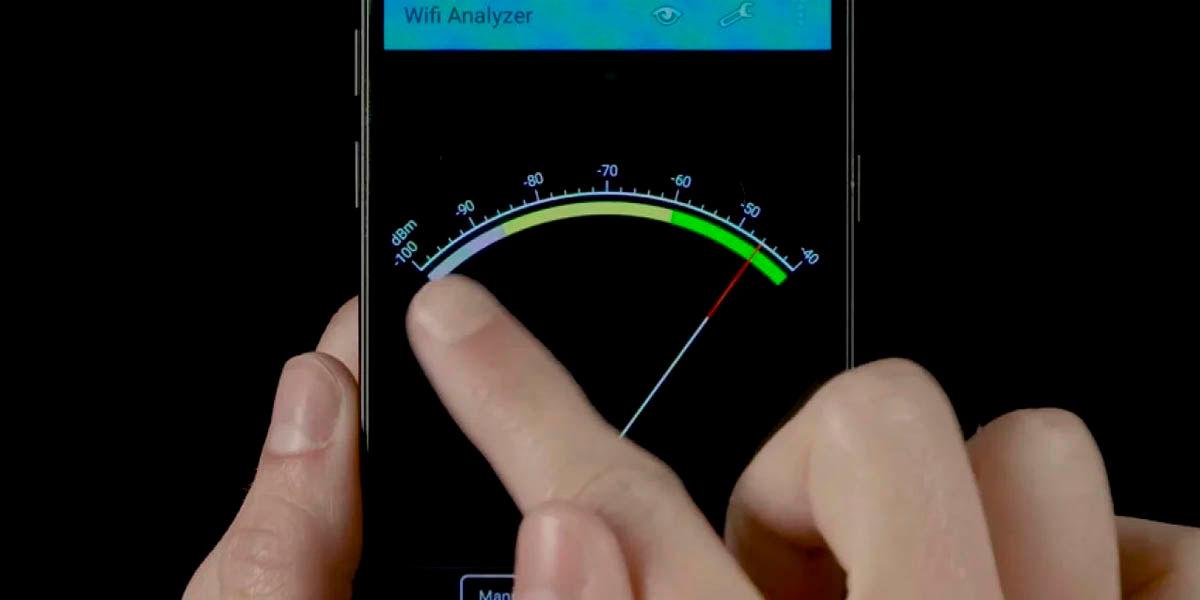 cómo mejorar conexion wifi con wifi analyzer