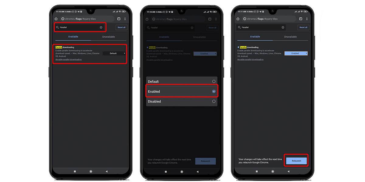 cómo mejorar velocidad descargar google chrome android