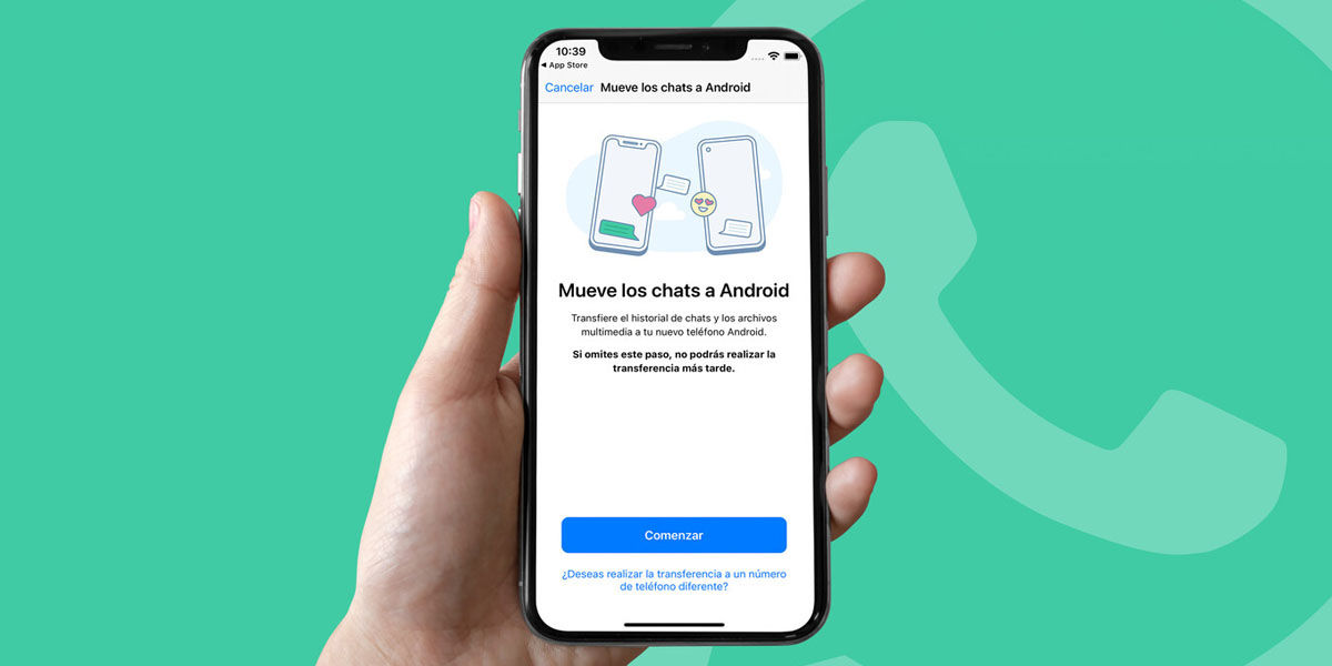 cómo mover tus chats de whatsapp iphone a samsung smart switch