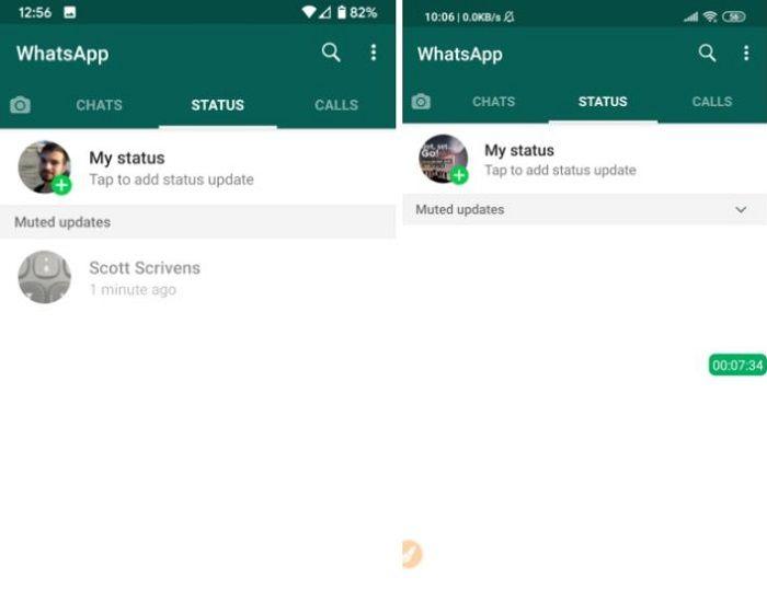 como ocultar estados whatsapp