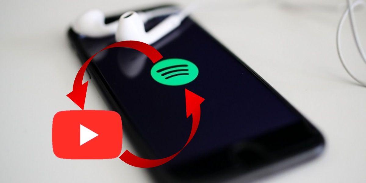 como pasar listas de reproduccion de spotify a youtube
