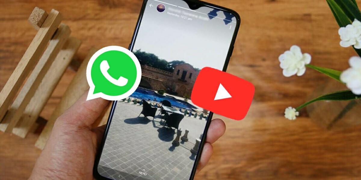 como poner video youtube como estado de whatsapp