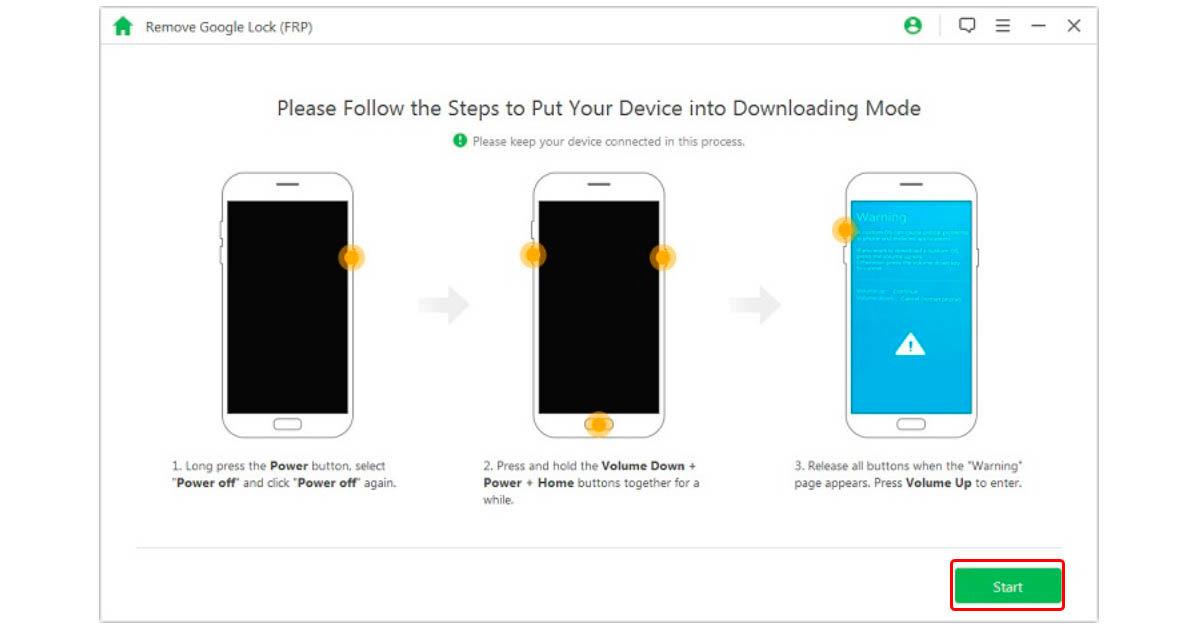 cómo quitar la contraseña de Google con iMyFone LockWiper para Android