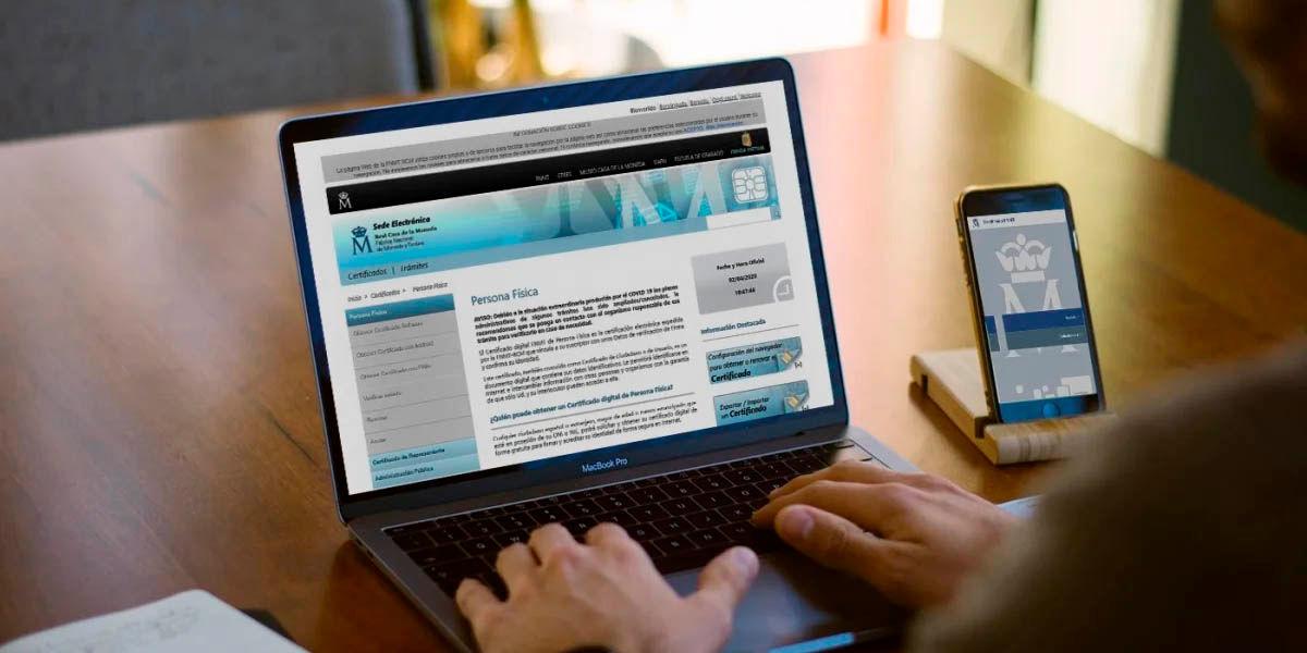 cómo registrar certificado digital españa