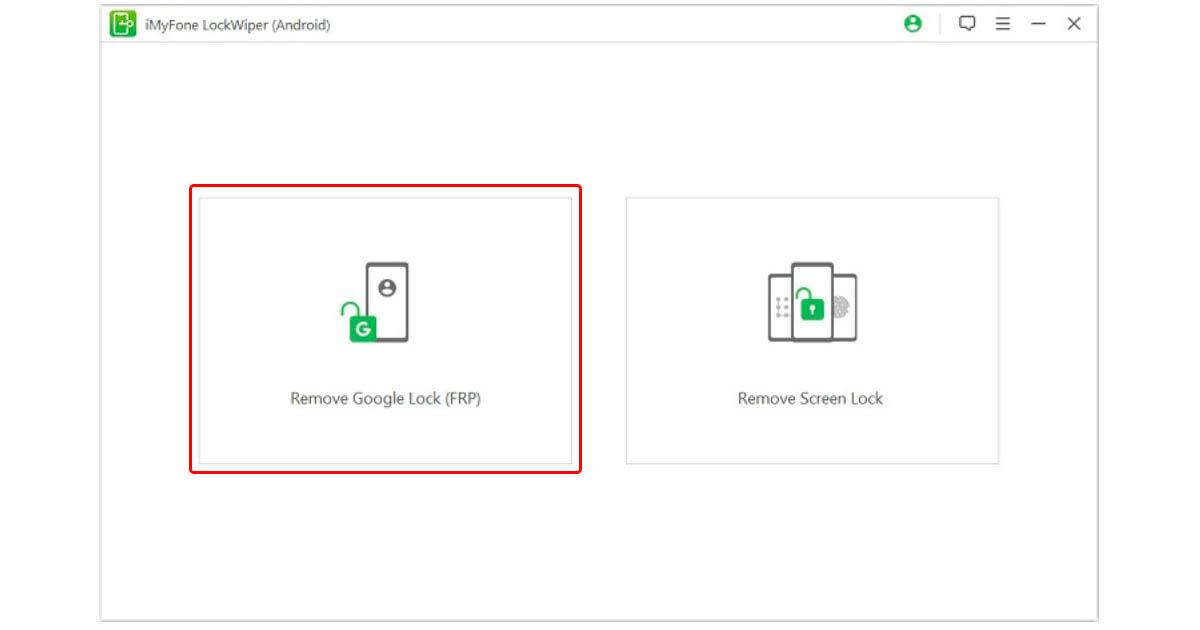 cómo saltarse Factory Reset Protection de Android con iMyFone LockWiper