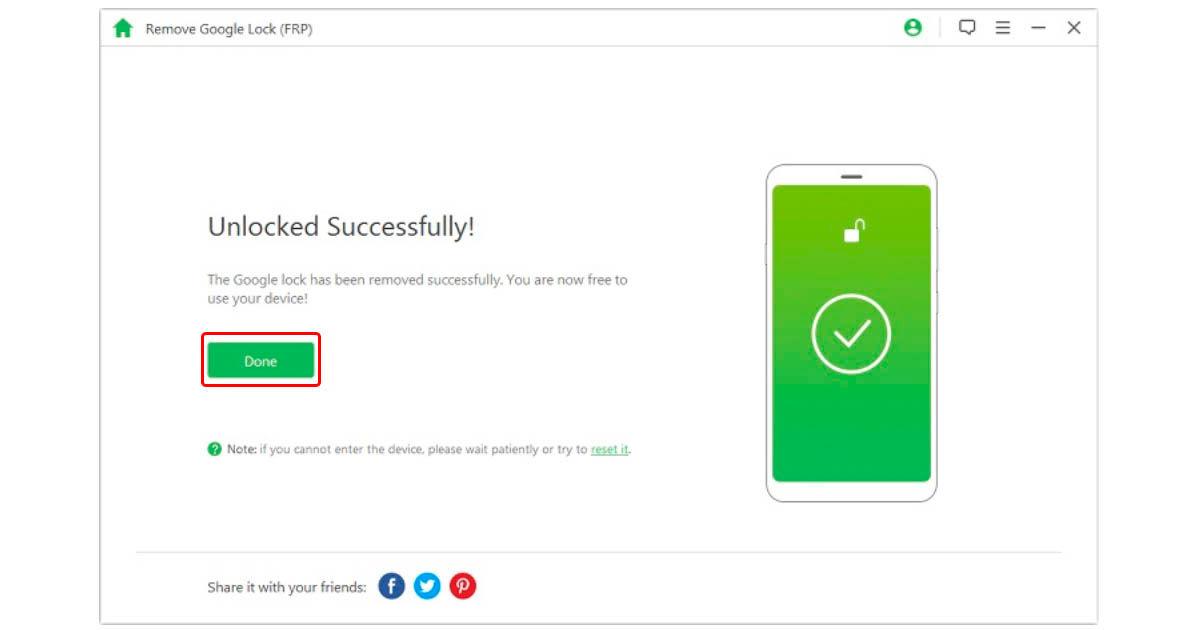 cómo saltarse el bloqueo de cualquier Android fácilmente con iMyFone LockWiper