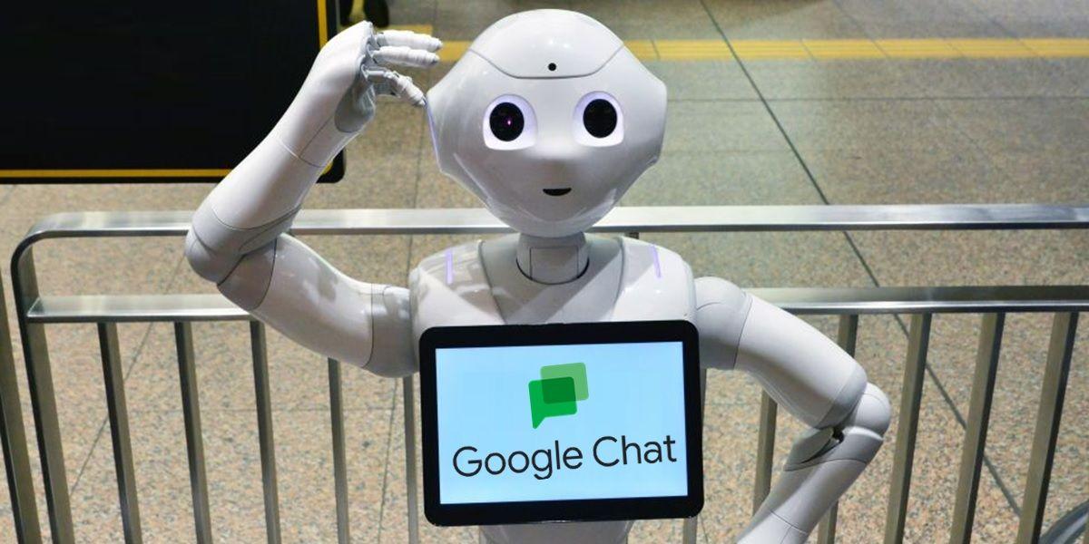 como usar bots en google chat