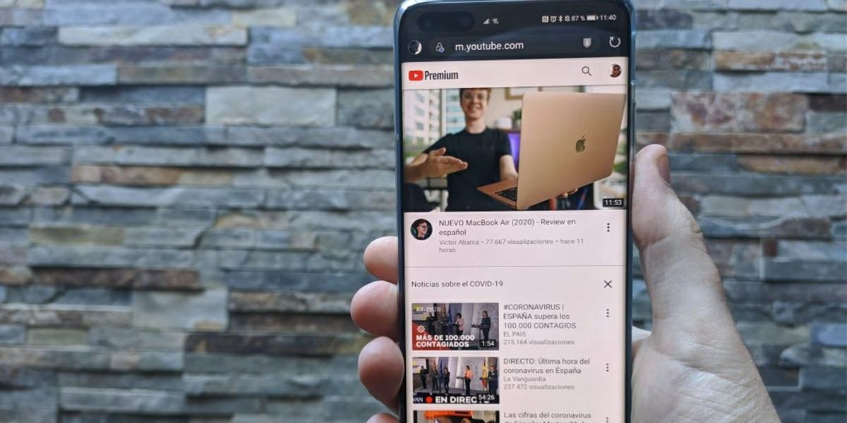 como usar youtube en un movil huawei sin google en forma de app