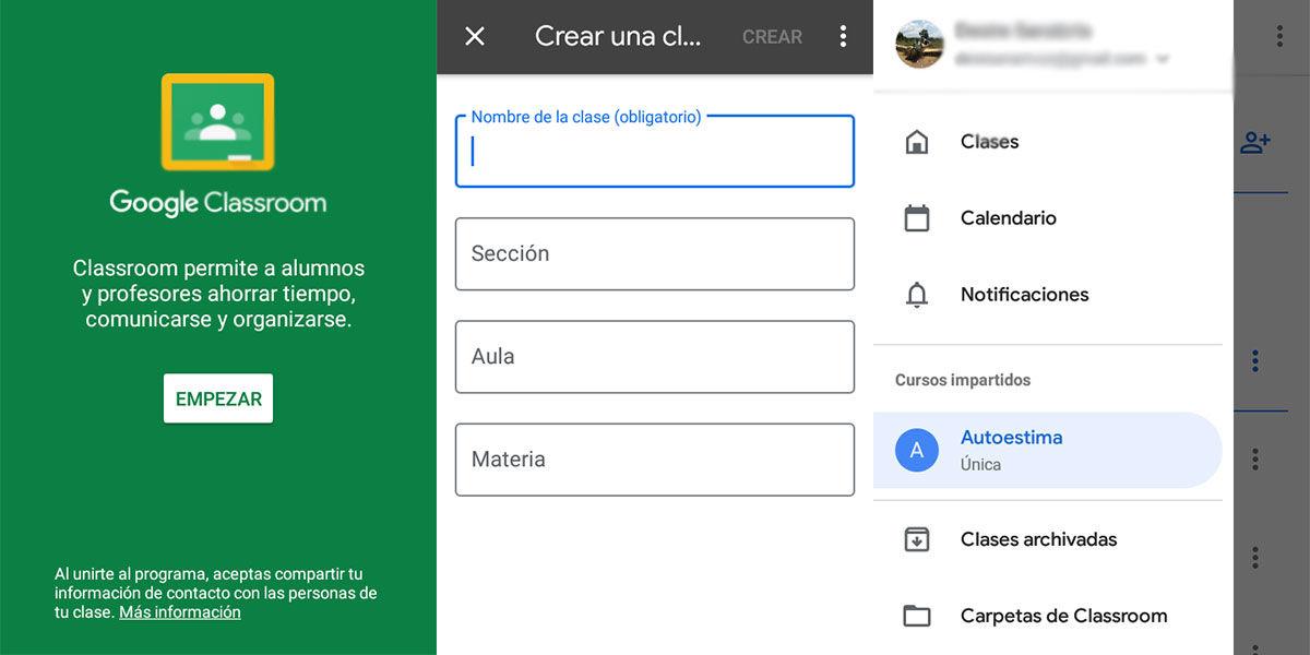 como utilizar google classroom