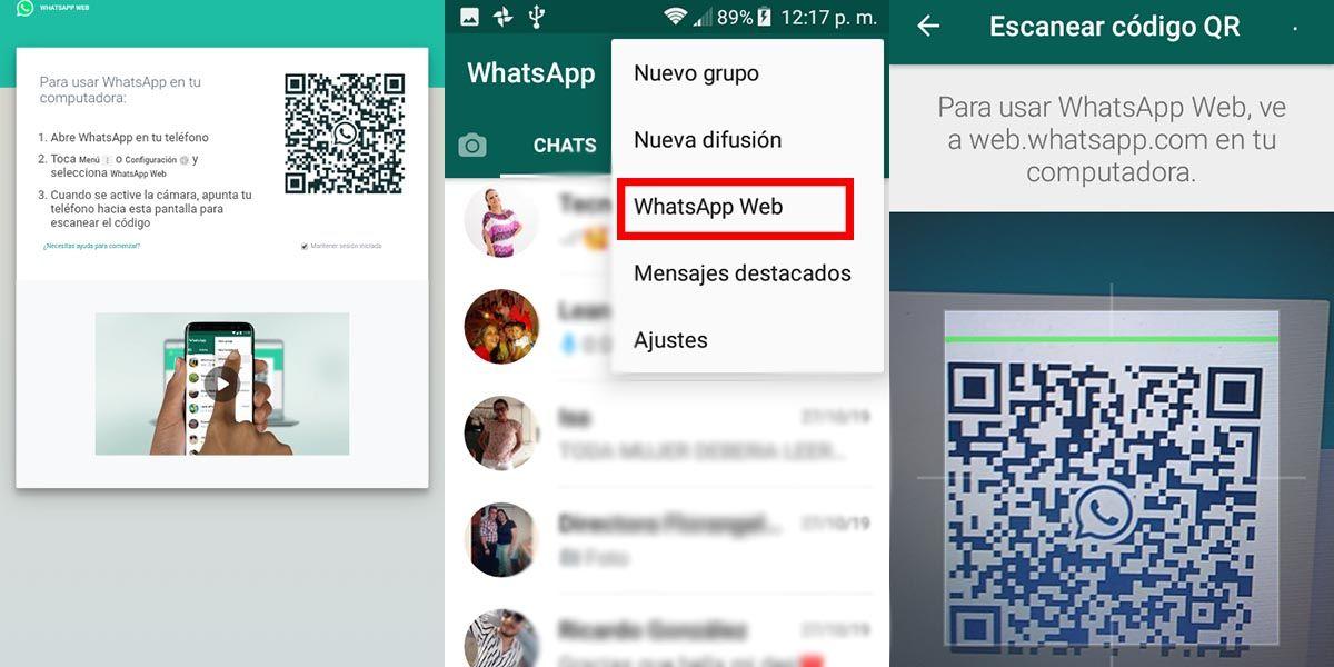 como utilizar whatsapp en una tablet
