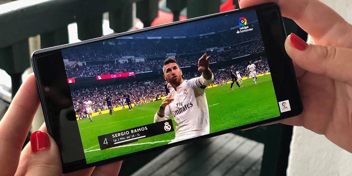 como ver futbol android