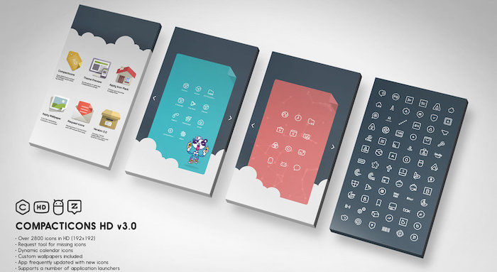 compacticons iconos android