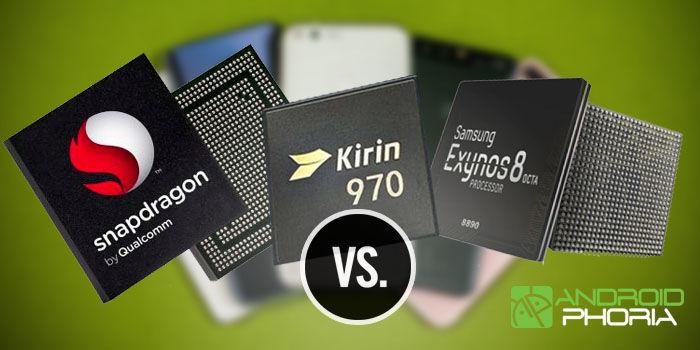comparativa exynos 9810 vs snapdragon 845 vs kirin 970
