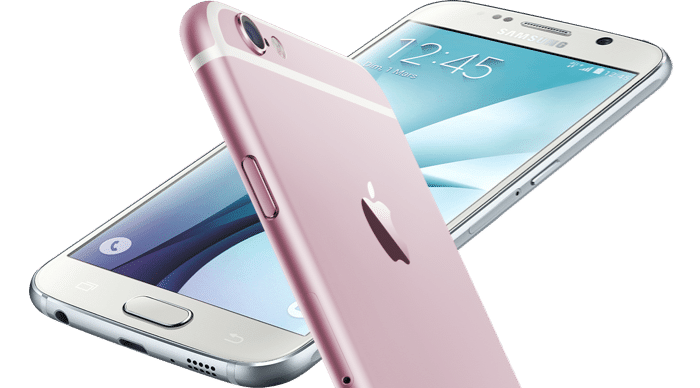 comparativa galaxy s6 iphone 6s