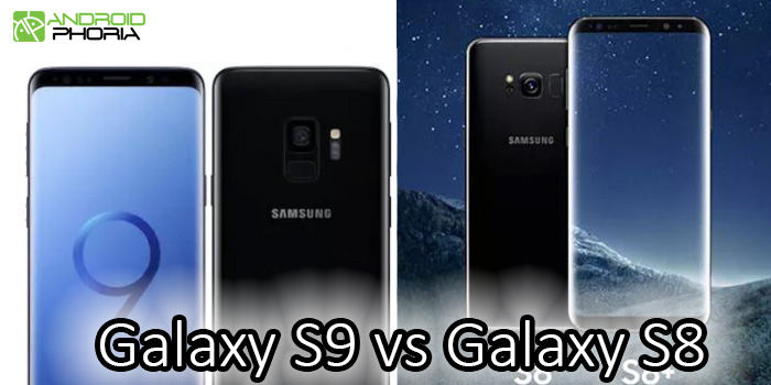 comparativa samsung galaxy s9 s8 plus