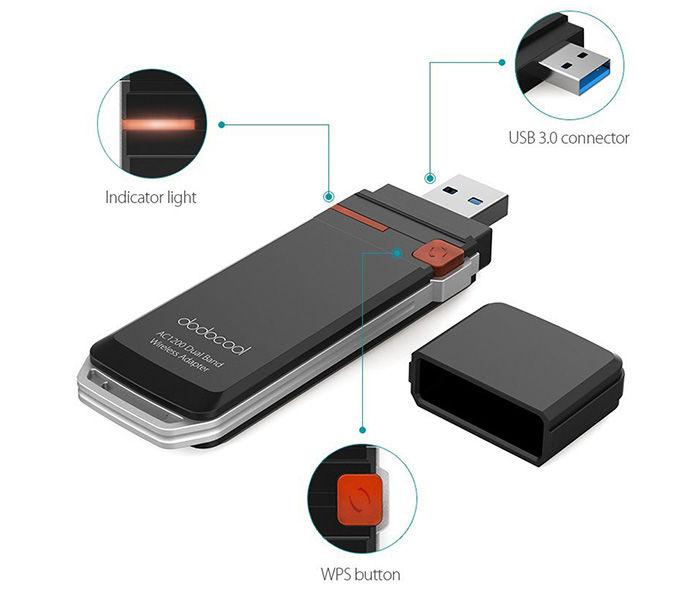 Comprar adaptador WiFi USB 3.0 descuento Amazon