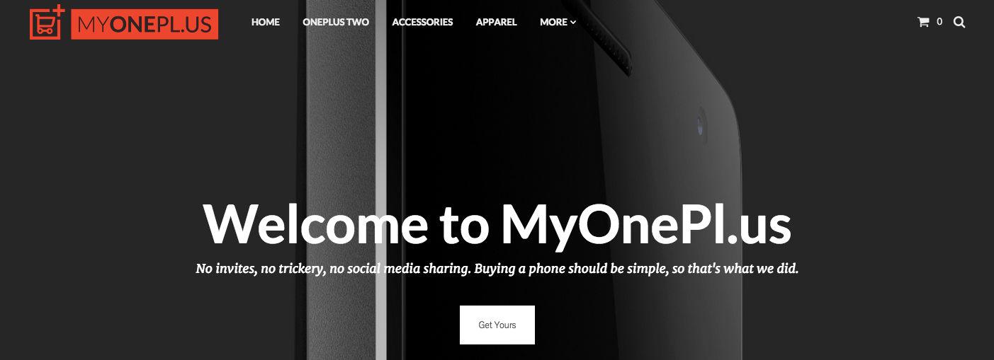 comprar oneplus 2 en myoneplus