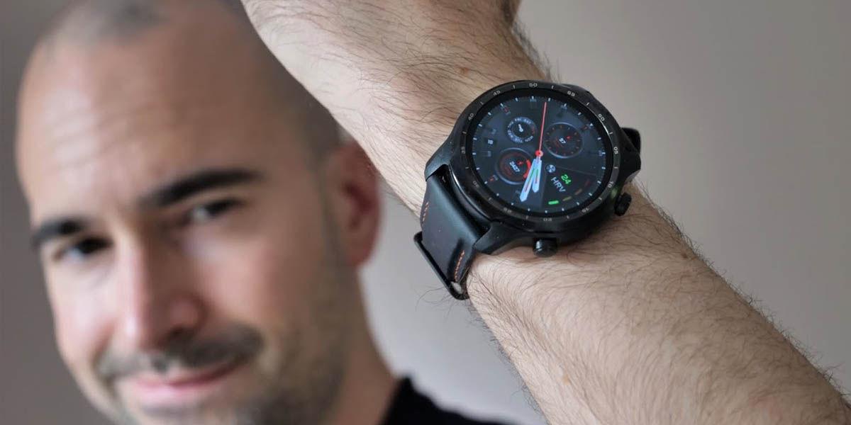comprar ticwatch pro 3 reloj inteligente compatible con telegram