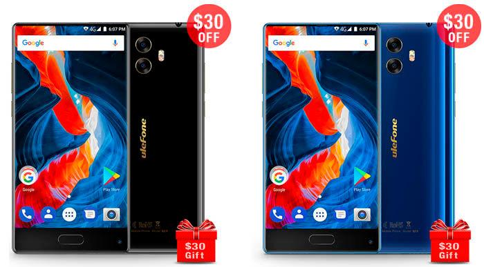 Comrpar Ulefone MIX oferta azul negro