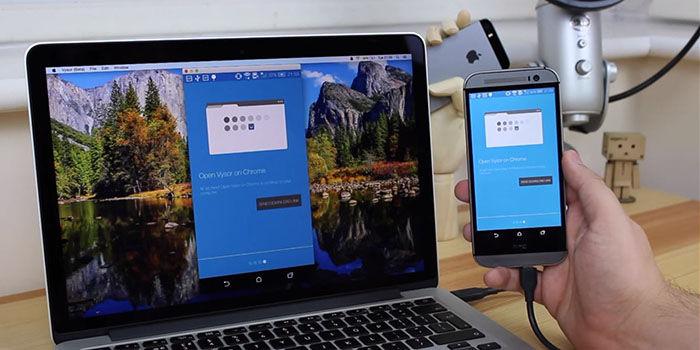 Conectar Android al PC con Vysor