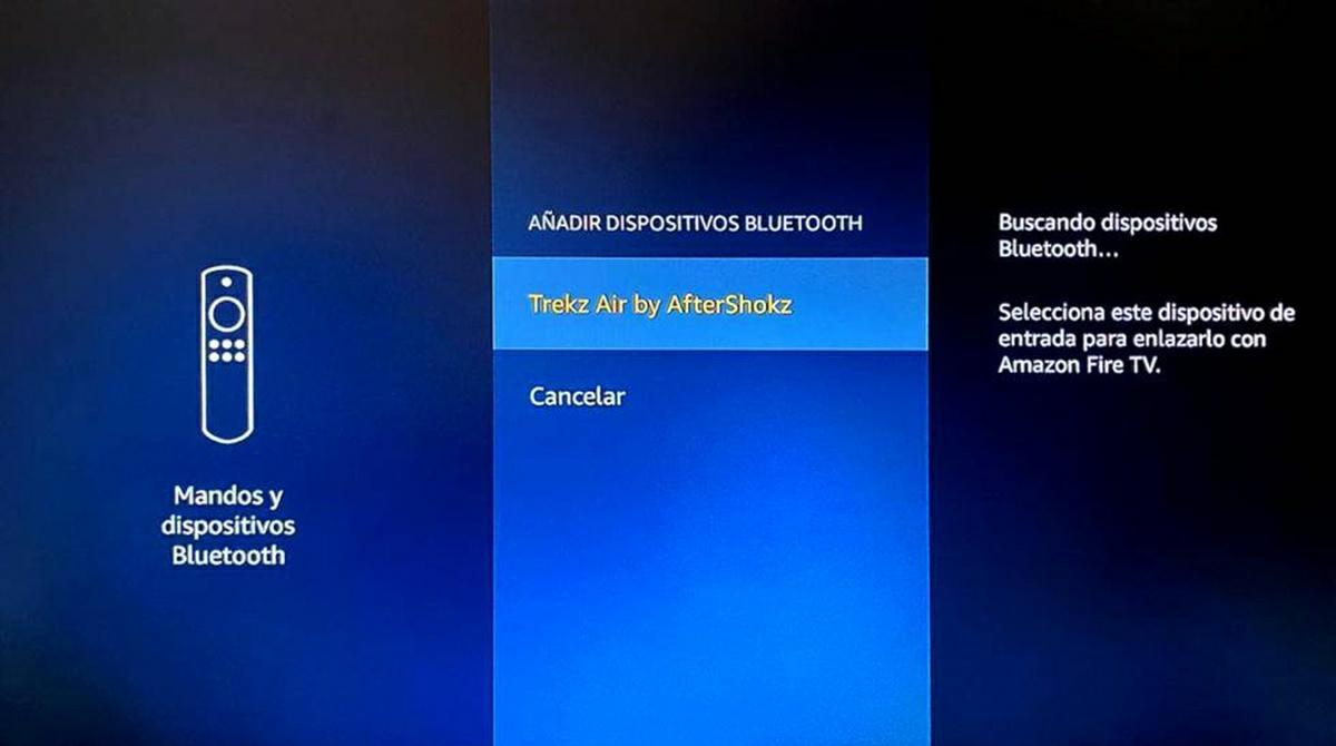 conectar auriculares bluetooth amazon fire tv