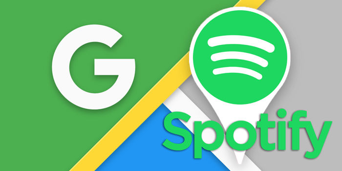 conectar spotify google maps