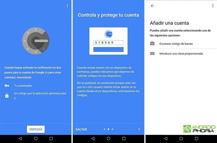 configurar google authenticator android