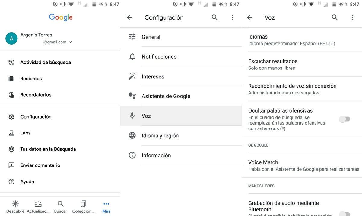configurar idioma de la app de google en espanol