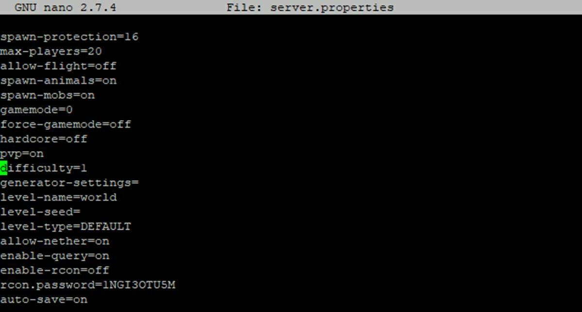 configurar servidor minecraft