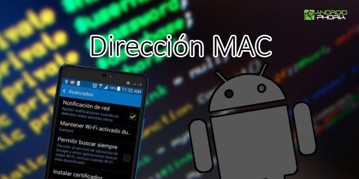 como saber la direccion mac de mi celular android