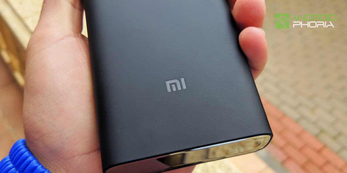 construccion xiaomi mi power bank 3