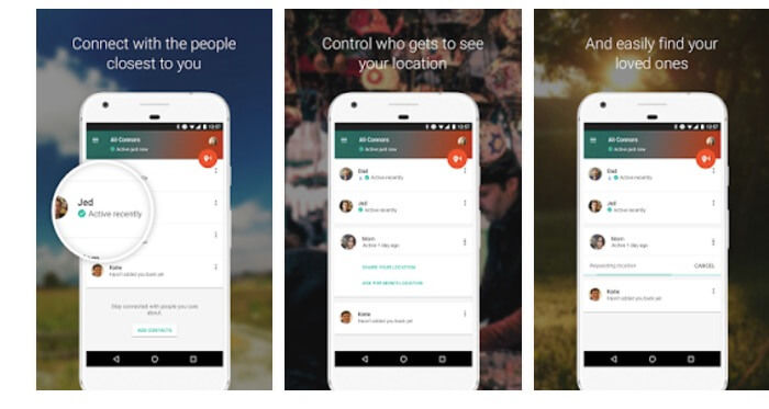 contactos confianza google