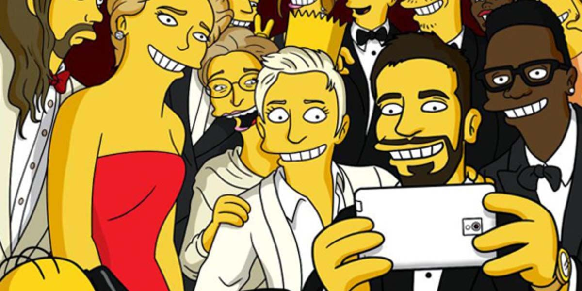 convertir selfie cara de simpson