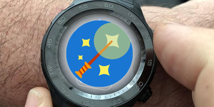 convertir smartwatch wear os en raton pc android