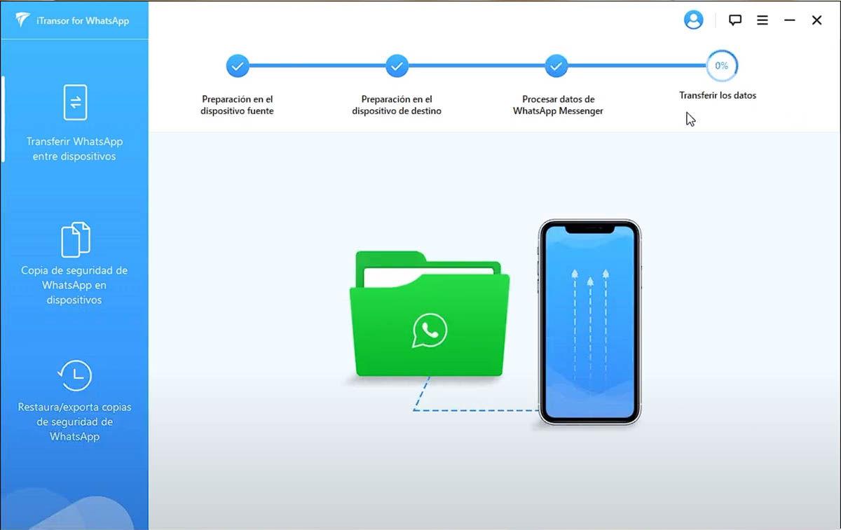 copiar whatsapp de un móvil viejo a uno nuevo