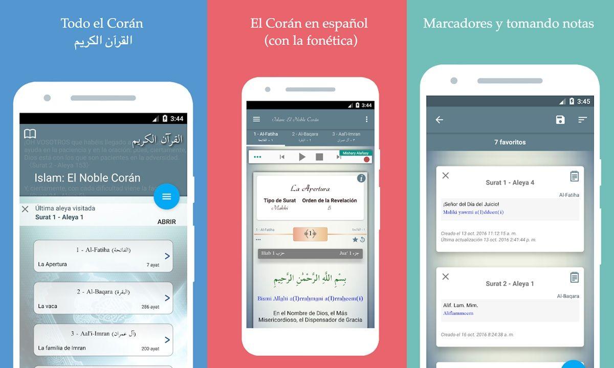 coran en espanol aplicacion