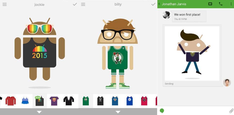 crear avatar android2